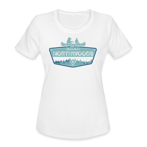 Northwoods GetAway - Women's Moisture Wicking Performance T-Shirt