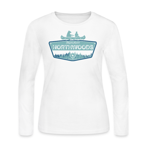 Northwoods GetAway - Women's Long Sleeve Jersey T-Shirt