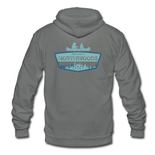 Northwoods GetAway - Unisex Fleece Zip Hoodie