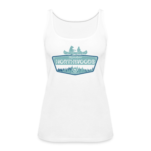 Northwoods GetAway - Women's Premium Tank Top