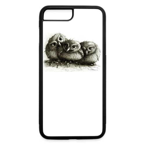 Young Sweet Owls - iPhone 7 Plus/8 Plus Rubber Case