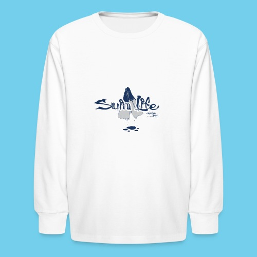 Swim Life Prism Tee - Kids' Long Sleeve T-Shirt
