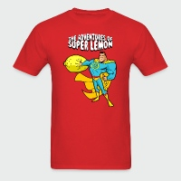 The Adventures of Super Lemon - Men's T-Shirt