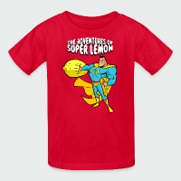 The Adventures of Super Lemon - Kids' T-Shirt