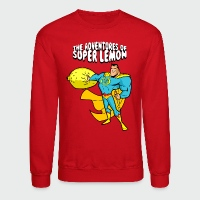 The Adventures of Super Lemon - Crewneck Sweatshirt