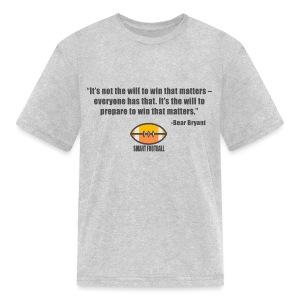 Preparing with Bear Bryant - Kids' T-Shirt
