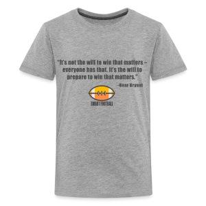 Preparing with Bear Bryant - Kids' Premium T-Shirt