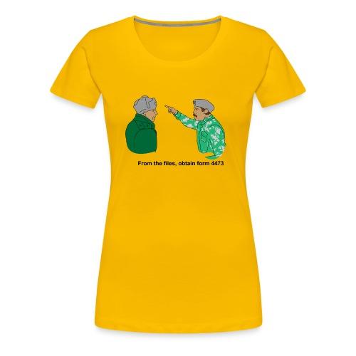 4473 - Women's Premium T-Shirt