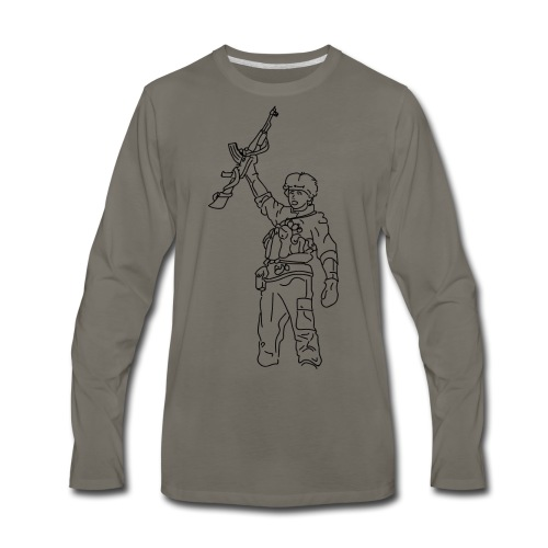 Aardvark - Men's Premium Long Sleeve T-Shirt