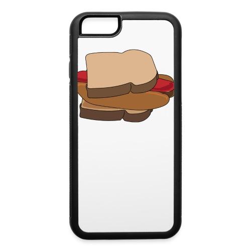 Hot Dog Sandwich - iPhone 6/6s Rubber Case