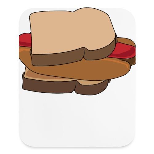 Hot Dog Sandwich - Mouse pad Vertical