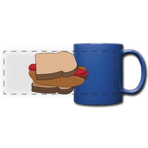 Hot Dog Sandwich - Full Color Panoramic Mug