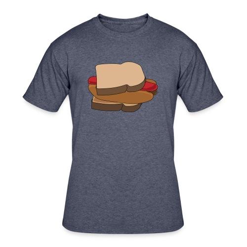 Hot Dog Sandwich - Men's 50/50 T-Shirt