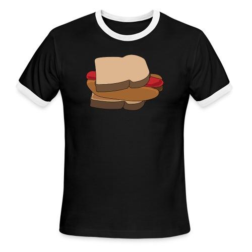 Hot Dog Sandwich - Men's Ringer T-Shirt