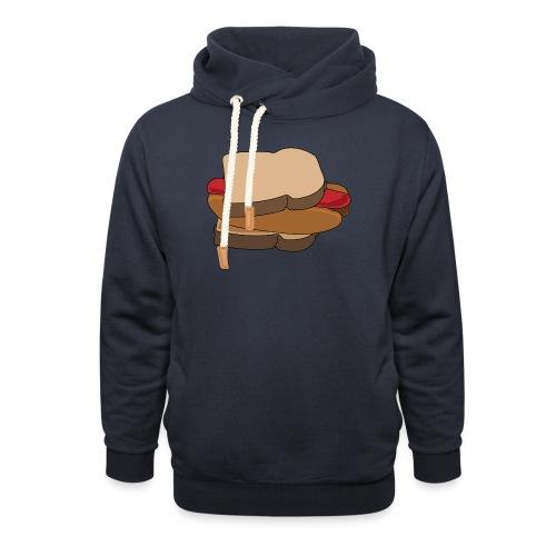 Hot Dog Sandwich - Shawl Collar Hoodie