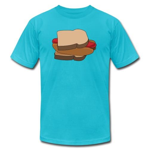 Hot Dog Sandwich - Men's  Jersey T-Shirt