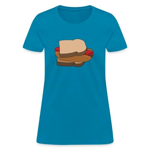 Hot Dog Sandwich - Women's T-Shirt