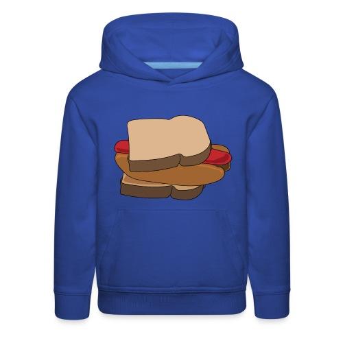 Hot Dog Sandwich - Kids' Premium Hoodie