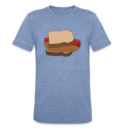 Hot Dog Sandwich - Unisex Tri-Blend T-Shirt