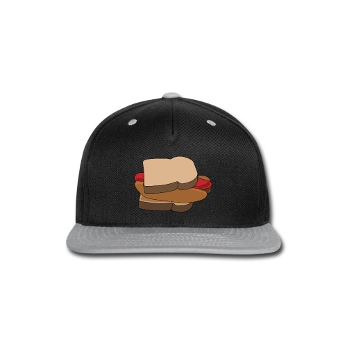 Hot Dog Sandwich - Snap-back Baseball Cap