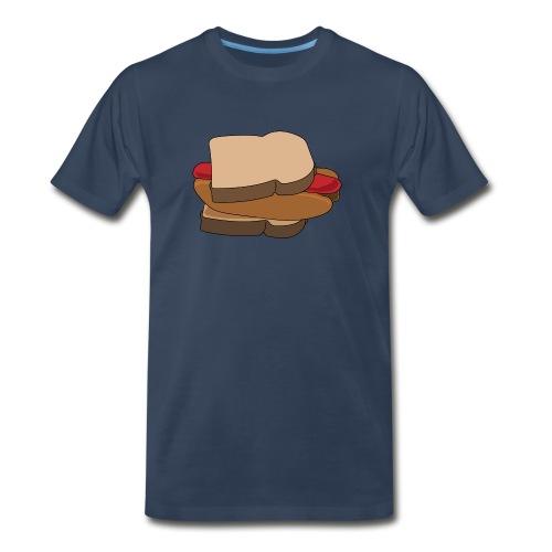 Hot Dog Sandwich - Men's Premium T-Shirt