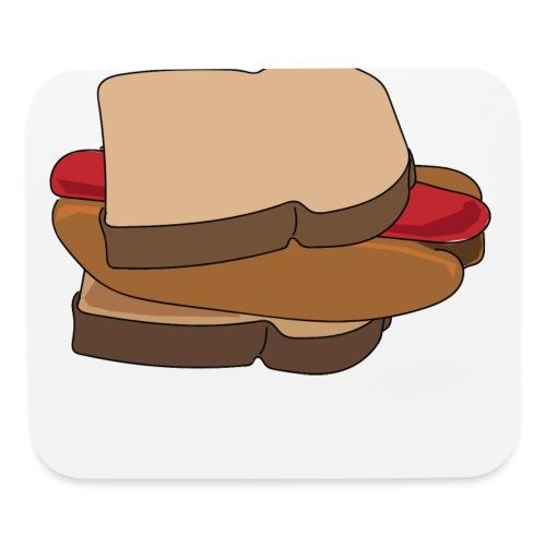 Hot Dog Sandwich - Mouse pad Horizontal