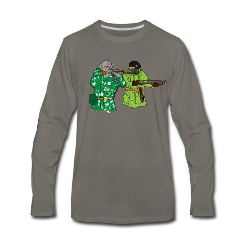 Hidy Hole - Men's Premium Long Sleeve T-Shirt
