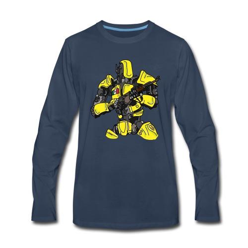 Assassin Android - Men's Premium Long Sleeve T-Shirt
