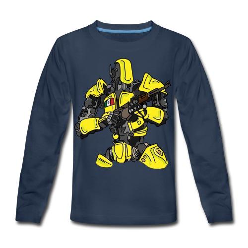 Assassin Android - Kids' Premium Long Sleeve T-Shirt
