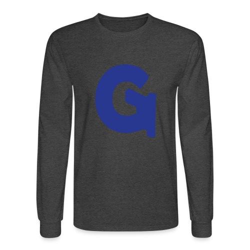 Gun Channels Logo - Blue - Men's Long Sleeve T-Shirt