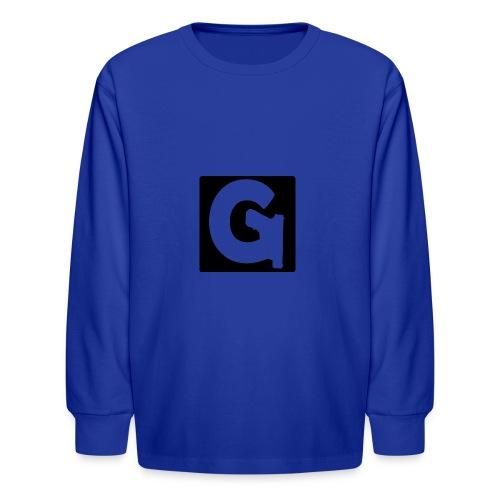 Gun Channels Logo Square - Kids' Long Sleeve T-Shirt