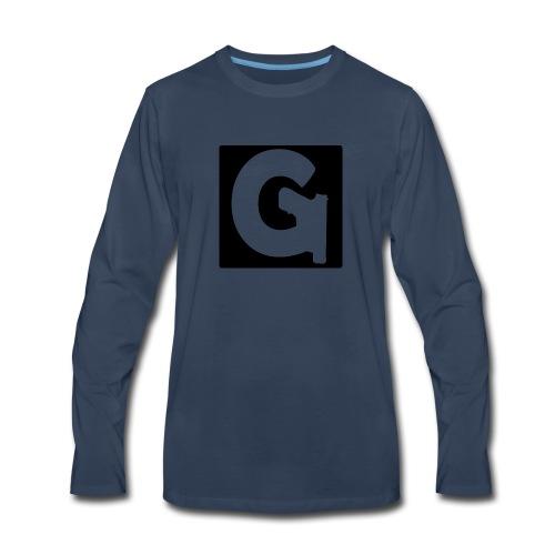 Gun Channels Logo Square - Men's Premium Long Sleeve T-Shirt