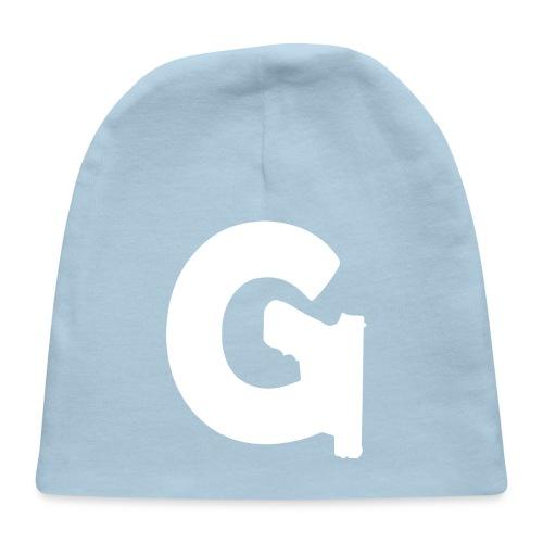 Gun Channels Logo - White - Baby Cap