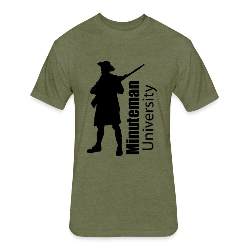 Minuteman University - Fitted Cotton/Poly T-Shirt by Next Level