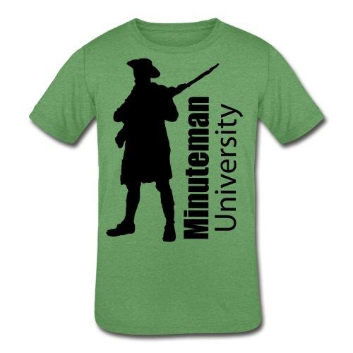 Minuteman University - Kids' Tri-Blend T-Shirt