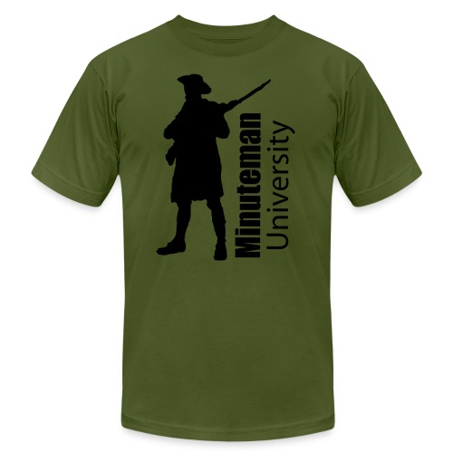 Minuteman University - Men's  Jersey T-Shirt