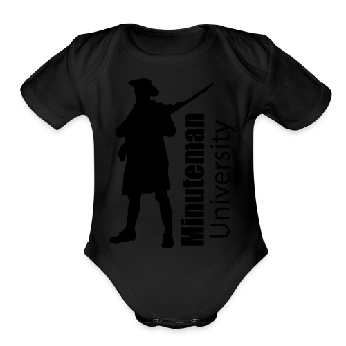 Minuteman University - Organic Short Sleeve Baby Bodysuit