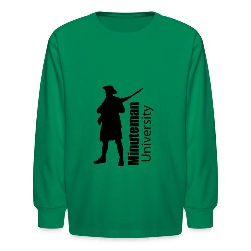 Minuteman University - Kids' Long Sleeve T-Shirt