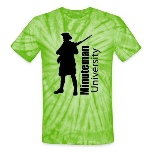 Minuteman University - Unisex Tie Dye T-Shirt