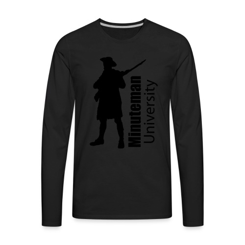 Minuteman University - Men's Premium Long Sleeve T-Shirt