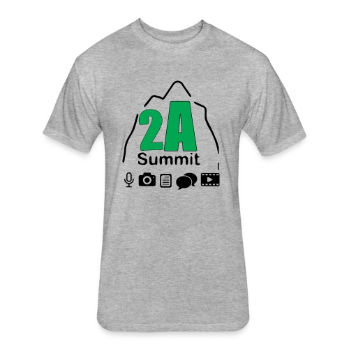 2A Summit - Fitted Cotton/Poly T-Shirt by Next Level