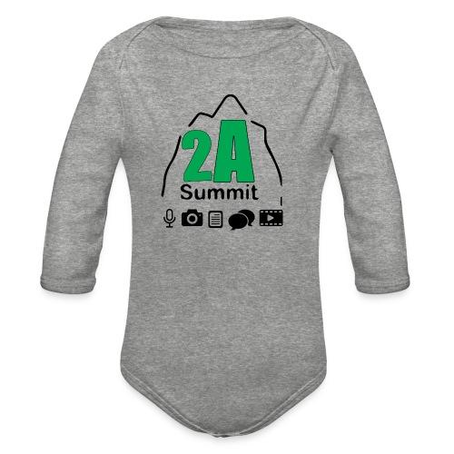 2A Summit - Organic Long Sleeve Baby Bodysuit