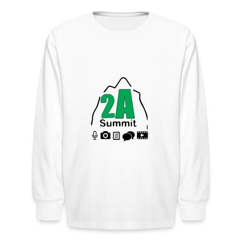 2A Summit - Kids' Long Sleeve T-Shirt