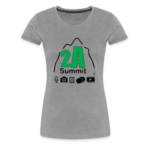 2A Summit - Women's Premium T-Shirt