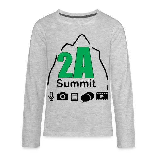 2A Summit - Kids' Premium Long Sleeve T-Shirt
