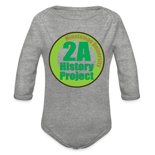 2A History Project - Organic Long Sleeve Baby Bodysuit