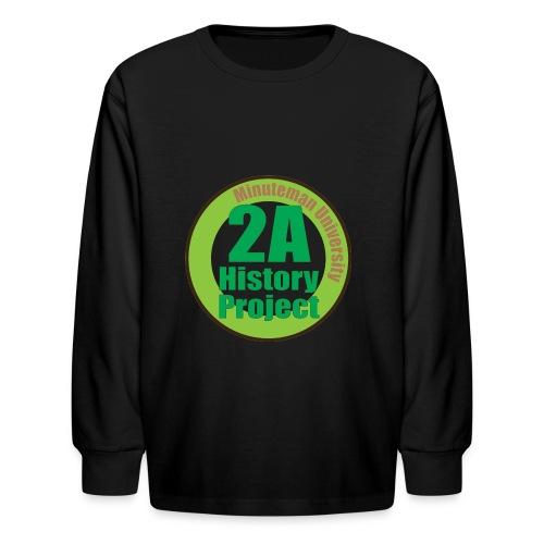 2A History Project - Kids' Long Sleeve T-Shirt