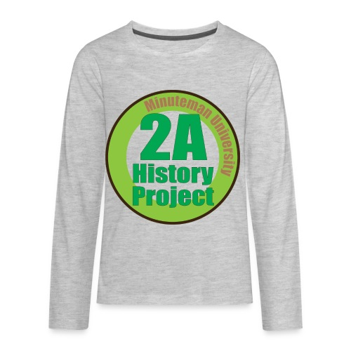 2A History Project - Kids' Premium Long Sleeve T-Shirt