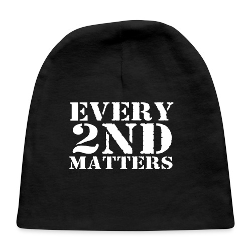 Every 2nd Matters (White) - Baby Cap