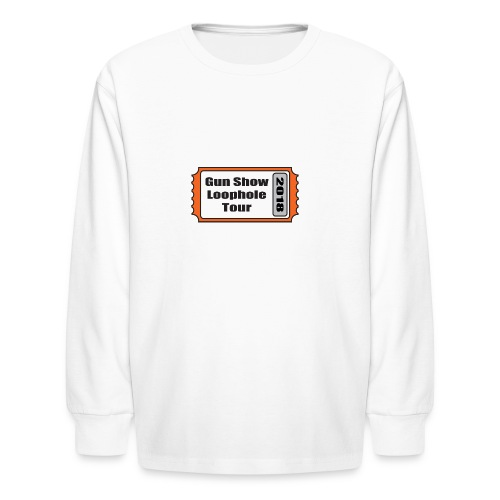 Gun Show Loophole Tour 2018 - Kids' Long Sleeve T-Shirt